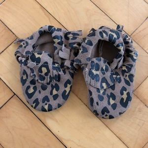 Other - Leopard print Moccasins